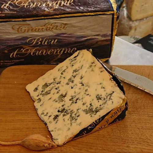 Bleu D'Auvergne Cheese, French blue cheese